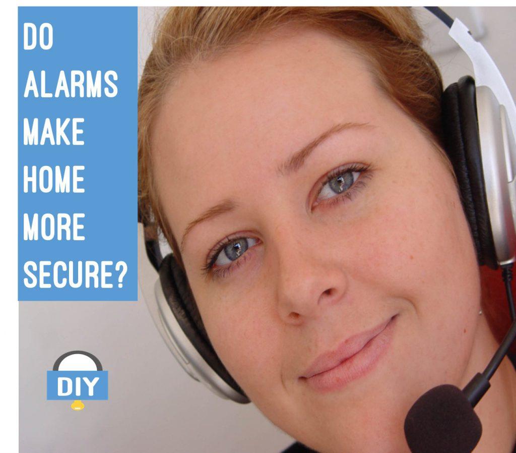 Do alarms make home more secure?