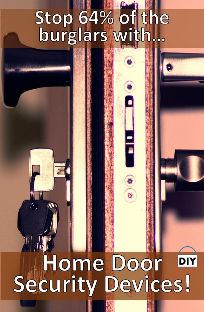 Home door security devices