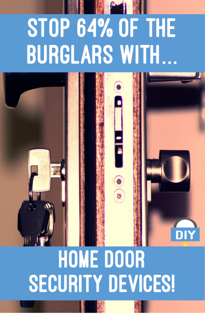 Home door security devices