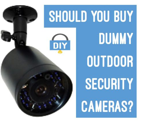 Should you buy dummy outdoor security cameras?