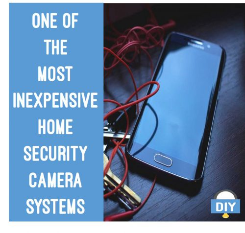 One of the most inexpensive home security camera systems