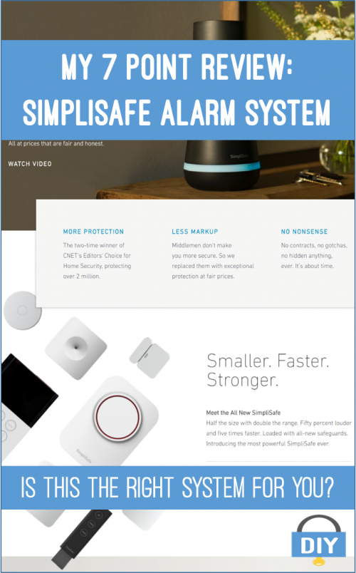7 point review simplisafe alarm systems