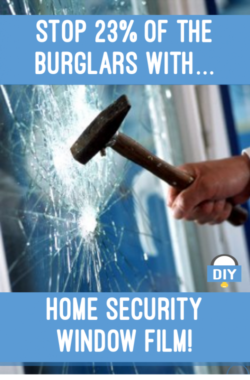 Home Security Window Film
