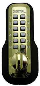 Lockey digital deadbolt