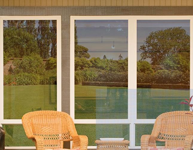 Window film mirroring