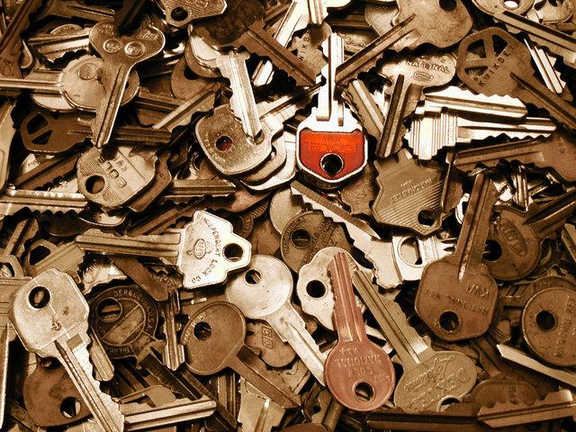 Pile o keys